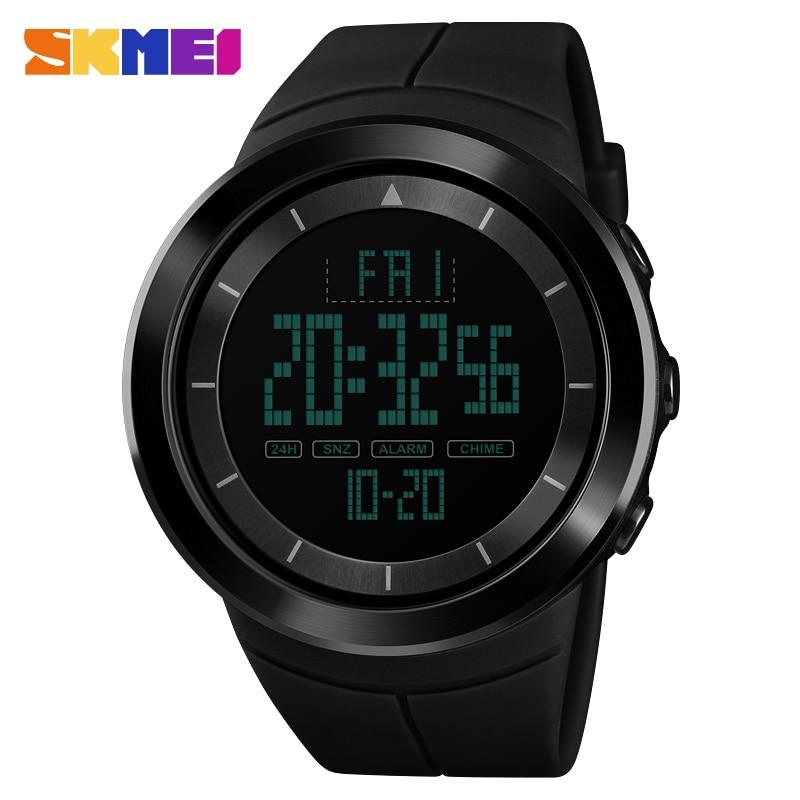 SKMEI Digital Sport Watch Men Outdoor Countdown Fashion Men's Watch Chronograph Top Clock Male Wristwatch relogio masculino1402