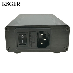 Image 5 - Ksger T12 はんだステーションヒント STM32 V2.01 oled diy キット FX9501 ハンドル電動工具溶接ヒント温度コントローラ