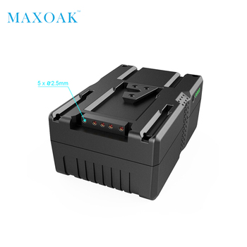 MAXOAK V177 V Mount Battery 177Wh 12000mAh/14.8V Li-ion Battery V-Mount V-Lock for Video Camera and Camcorder