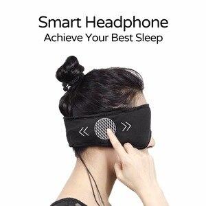 Image 2 - Fones de ouvido sleepace, confortável, lavável, máscara para os olhos com bloqueio de som/cancelamento de ruído, fone de ouvido, controle remoto app inteligente