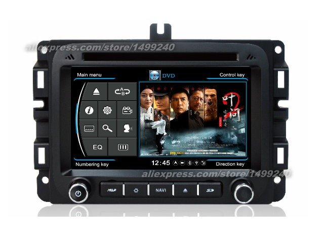 For Dodge Ram 2013~2014   Car GPS Navigation System + Radio TV DVD iPod BT 3G WIFI HD Screen Multimedia System-in Vehicle GPS from Automobiles & Motorcycles    2