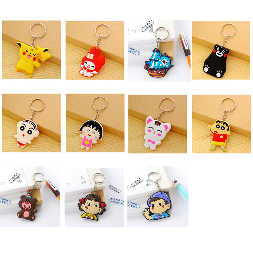 suti Keychains Rabbit Key chains Bag car KeyRing key holder