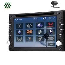"Eincar Windows 8 In dash 6.2"" HD GPS Navigation Double 2 DIN Car Stereo Radio DVD CD MP3 Player Bluetooth USB SD iPod PC+Camera"