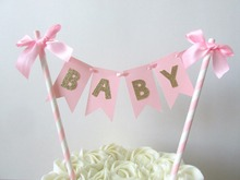 It's A Girl Baby Cake Topper