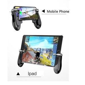 Image 3 - PUBG 携帯トリガー/コントローラ発射ボタン目的キー携帯ゲームグリップハンドル L1R1 シューター Ipad タブレット & 電話 2in1