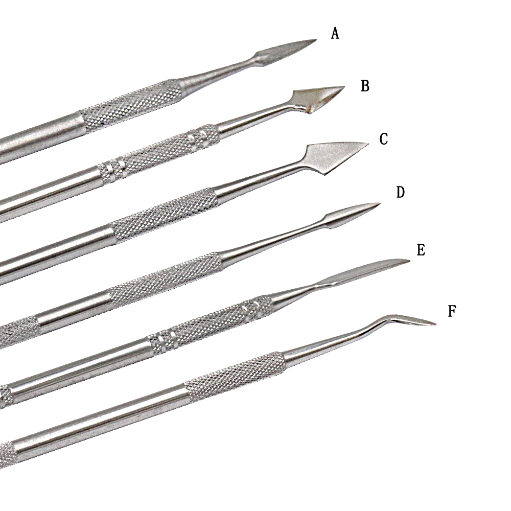 12 Pcs Dentaire Cire Couteau Kit Carve Argile Sculpture Outil Lame - Ensembles d'outils - Photo 3
