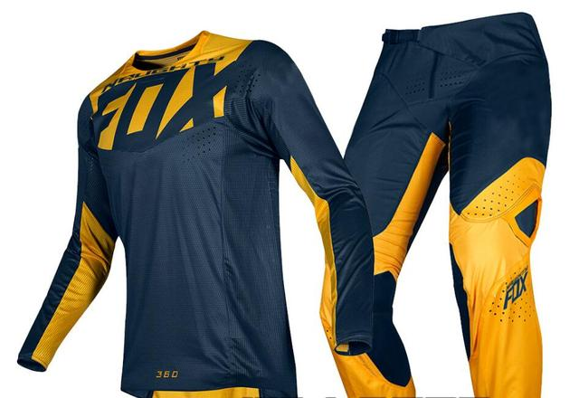 2019 NAUGHTY FOX MX 180 Prizm Navy Yellow Jersey Pants Motocross Racing  Dirt bike Off Road Gear Set-in Trousers from Automobiles   Motorcycles on  ... 956b322a1