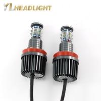 High Power H8 Angel Eyes E92 120W LED Marker for CREE LED Chips Red White Blue Green for BMW X5 E70 X6 E71 E90 E91 E92 M3 E60