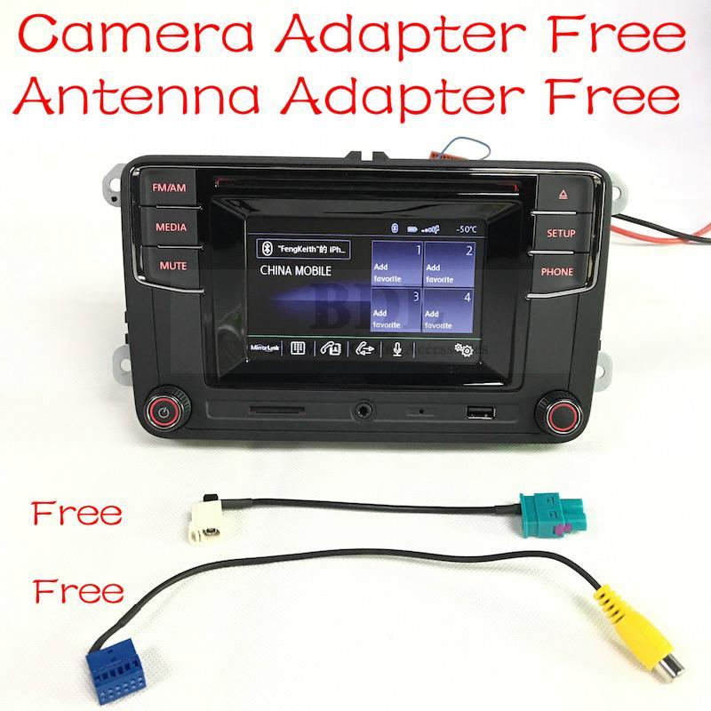 Free Shipping font b Car b font Bluetooth Radio MIB RCD330 RCD330G RCD510 RCN210 MP3 USB
