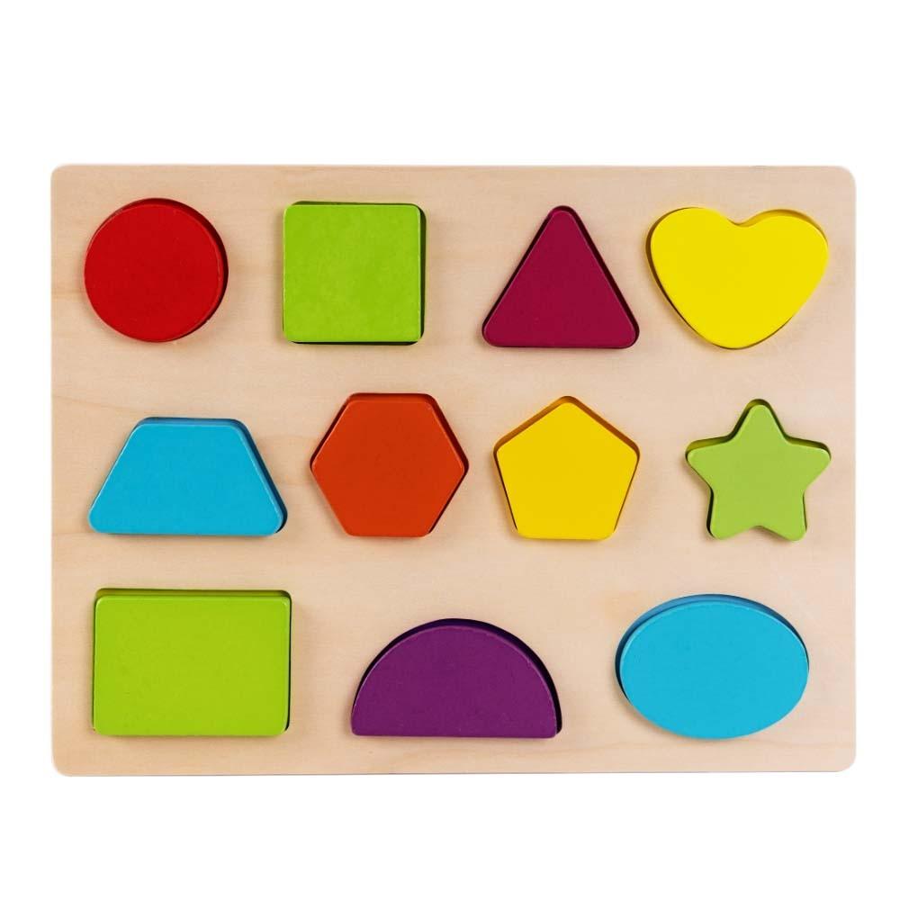 Παιδικά Ξύλινα Παζλ 3d Εκπαιδευτικό Παιχνίδι Για Τα Μικρά Παιδία