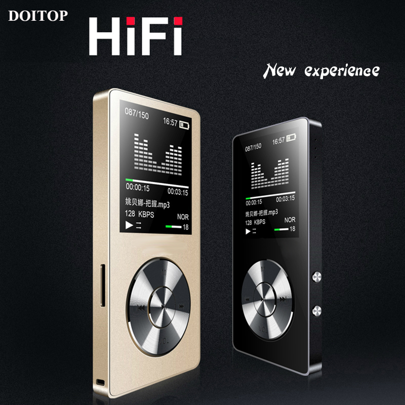 DOITOP 1,8 ''Sport HIFI Verlustfreie Sound <font><b>MP3</b></font> <font><b>Player</b></font> 8 GB Stereo Musik Audio Walkman Lange Standby <font><b>MP3</b></font> Video <font><b>Player</b></font> mit FM Rekord TF image