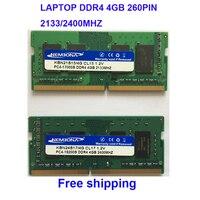Kembona sodimm  ordenador portátil con memoria ram  ddr4 4gb 4g  2133MHz  2400MHZ  2666MHZ  260 Pines  envío gratis