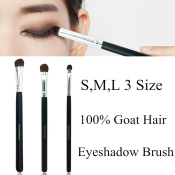 Professional Eyeshadow Makeup Brush Goat Hair WoodHandle Make Up Eyeshadow Blending Brushes Cosmetic Tool Eye Nose Shadow Brush professional eye shadow brush wood handle 230 large flat tapered shader brush eye detail make up brush cosmetic tool