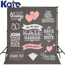 Wedding Photo Backdrops Photography Vintage Backdrops Custom Made Name Date Blackboard Backdrops For Kate Background Any size