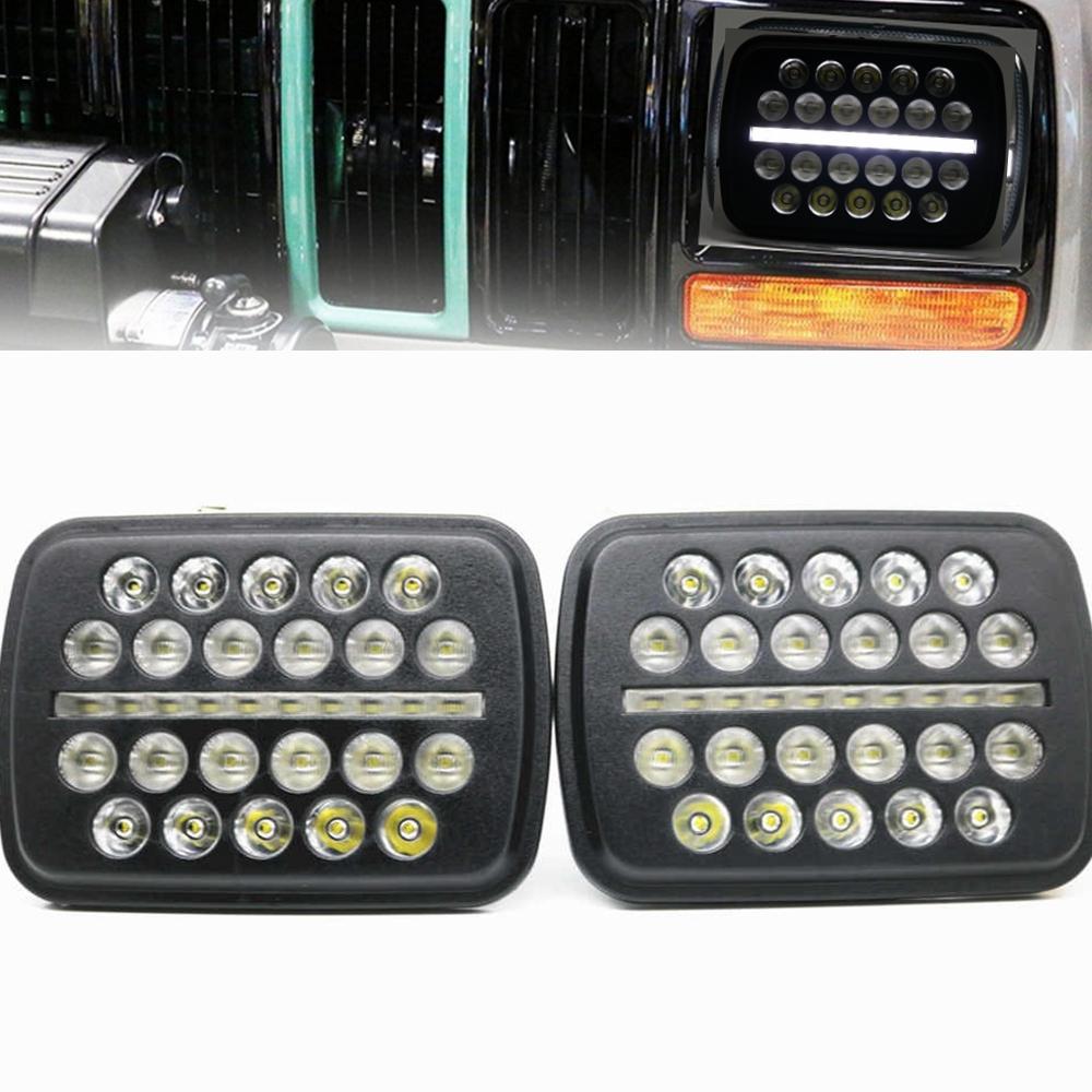 7 Inch Daymaker headlight led trucklight High Low Beam Headlamp for jeep Wrangler YJ Cherokee XJ Trucks 4X4 Offroad.jp3g.j3pg
