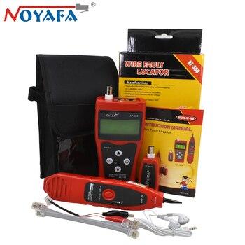 Original Noyafa NF-308 Telephone Wire Tracker Diagnose Tone Cat5 Cat6 RJ45 UTP STP Line Finder Tool Kit LAN Network Cable Tester