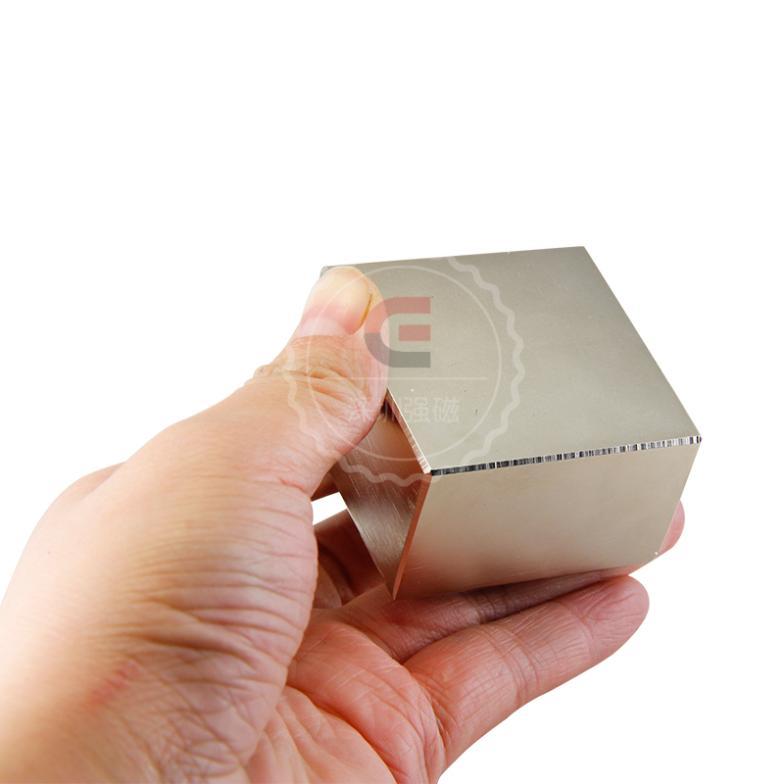 2 pcs Block ขนาด 50x50x30 มม. แข็งแรง Neodymium แม่เหล็ก-ใน วัสดุแม่เหล็ก จาก การปรับปรุงบ้าน บน AliExpress - 11.11_สิบเอ็ด สิบเอ็ดวันคนโสด 1
