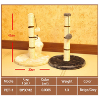 Cat Furniture Smart Cat The Ultimate Scratching Post Sisal Cat Scratching Tree With Plush Ball For