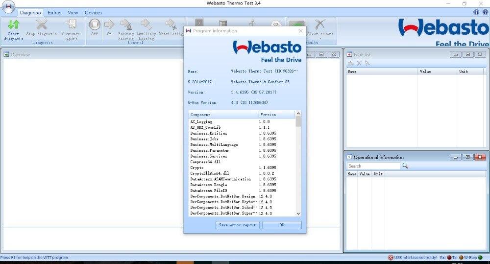 Webasto Thermo Test V3.4 [2017] цены