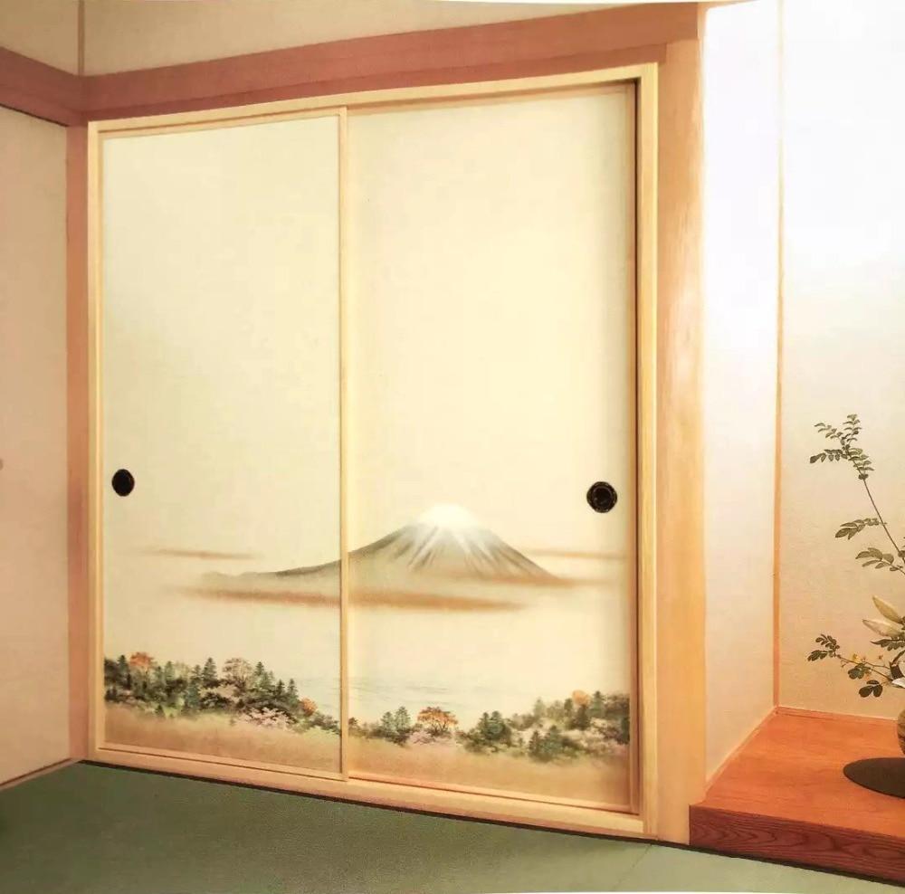 Japanese Fusuma Door Paper 2 Sheets/Pair Washi Woodblock Decor ...