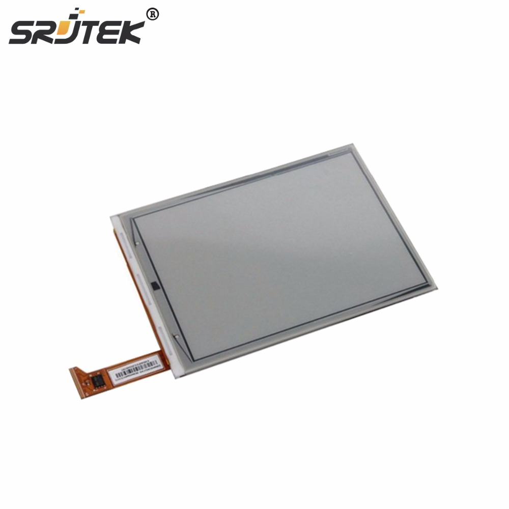 Srjtek High Quality 6 Inch ED060SCF LCD Display for Amazon kindle 4 Ebook Reader Glass Panel