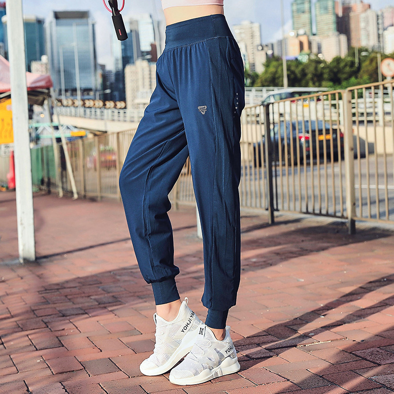 4XL spring women sweatpants quickly dry loose sport pant running jogger training fitness workout athletic track pants sportswear in Trainning Exercise Pants from Sports Entertainment