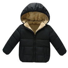 85a9ccb3ee6 BibiCola Winter Baby Boys Snowsuit Cotton Girls Coats Jackets Baby Thicken  Warm Velvet Down Parka Kids Boy Jackets Outerwear