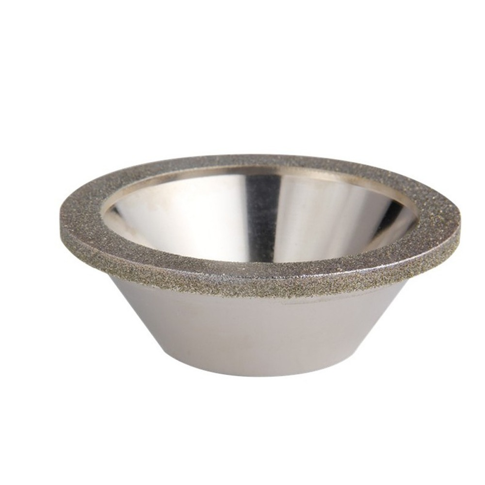 125mm Diamond Grinding Wheel Cup grinding circles for Tungsten Steel Milling Cutter Tool Sharpener Grinder Accessories Outer Dia silver bowl shaped diamond grinding wheel cup grit 320 dia 100mm grinder cutter