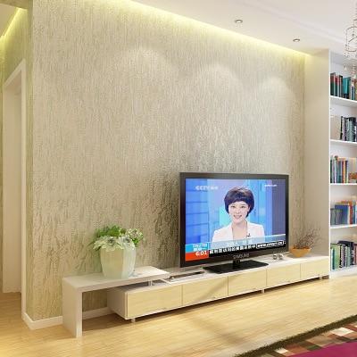 Купить с кэшбэком Solid Color Mottled Non-woven Wallpaper Simple Modern Living Room Bedroom TV Background Wall Paper Roll
