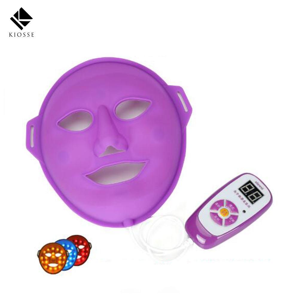 Beauty Therapy Korean LED Photodynamic Facial Mask Beauty Instrument Anti acne Skin Rejuvenation led mask facial treatment A270 anti acne pigment removal photon led light therapy facial beauty salon skin care treatment massager machine