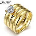 JUNXIN Unique Design Lose Money Sell Stainless Steel Ring Wedding Engagement Rings For Men And Women Fashion Jewelry SMT0450