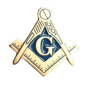 Image 2 - Масонский значок с отворотом, угольник и циркуль, значок с отворотом каменщика, значок с бабочкой, клатч, символ в подарок, бесплатная доставка