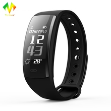 Tonbux QS90 Smart Band for IOS Android Heart Rate Monitor Blood Pressure Fitness Tracker IP67 Waterproof Bluetooth 4.0 Bracelet