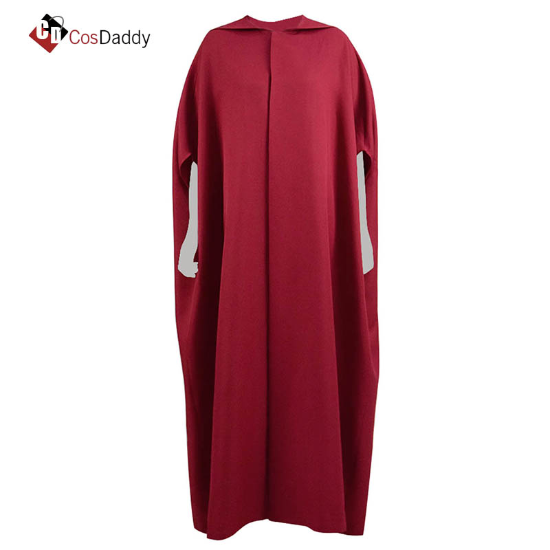 Handmaid Cosplay Costume Cloak Gown Elisabeth Moss June Osborne Offred Trench CosDaddy