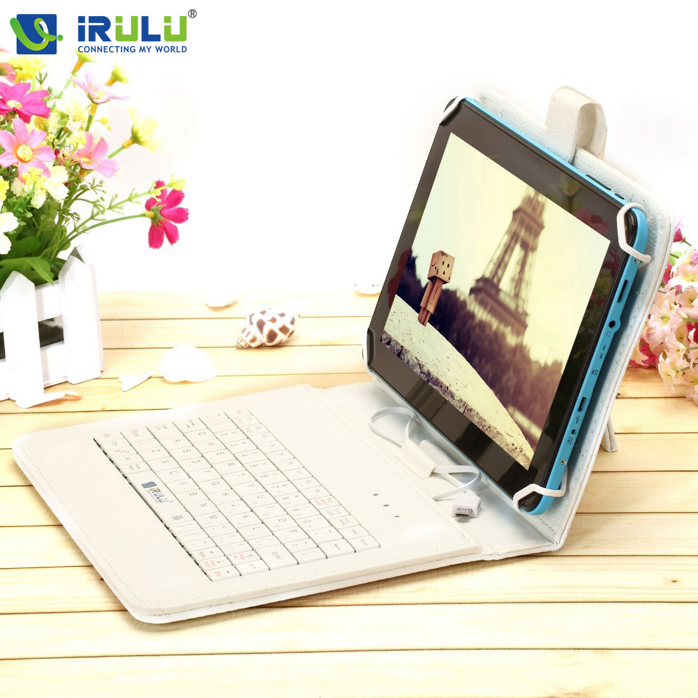 ФОТО Original iRULU eXpro X1Pro 9'' Tablet PC 8G ROM Quad Core Android 4.4 Tablet Dual Cameras 4000mAh WiFi w/EN Keyboard Hot