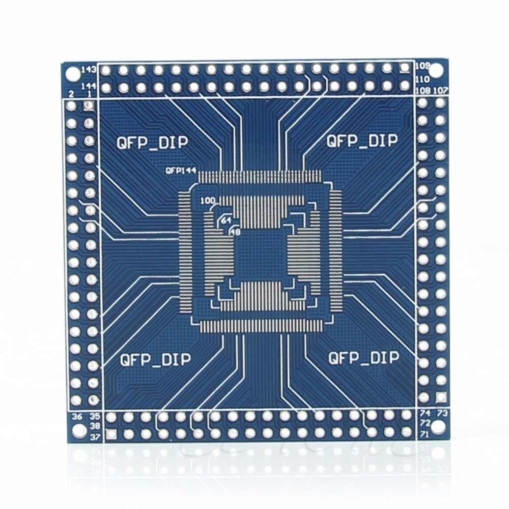 Qfp/tqfp/lqfp 32/44/48/64/100/144 pinos para mergulhar o conversor do adaptador da placa do pino