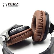 Bruin oorkussens voor Pioneer hdj1000 hdj2000 mk2 hdj1500 hoofdtelefoon