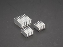 3pcs + Adhesive Raspberry Pi 3 Heatsink Cooler Pure Aluminum Heat Sink Set Kit Radiator For Cooling Raspberry Pi 2 B