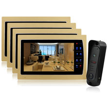 Homefong 10 TFT Video font b Door b font Phone Doorbell Home Security Entry Intercom System