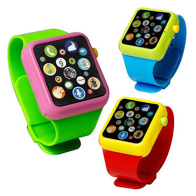 Kids Baby Educational Smart Wrist Watch Early Learning 3DTouch Screen Music Toy