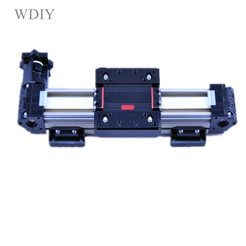 Mechanical arm of industrial mechanical arm, XYZ tri-axis slide track cartesian robot stepping servo sliding table