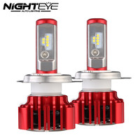 NIGHTEYE 2 Pcs H4 Hi Lo Led Headlight 2 30W Bulb Auto HB2 9003 Headlamp Lamp