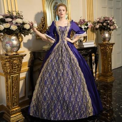 Cartoon Victorian Dresses