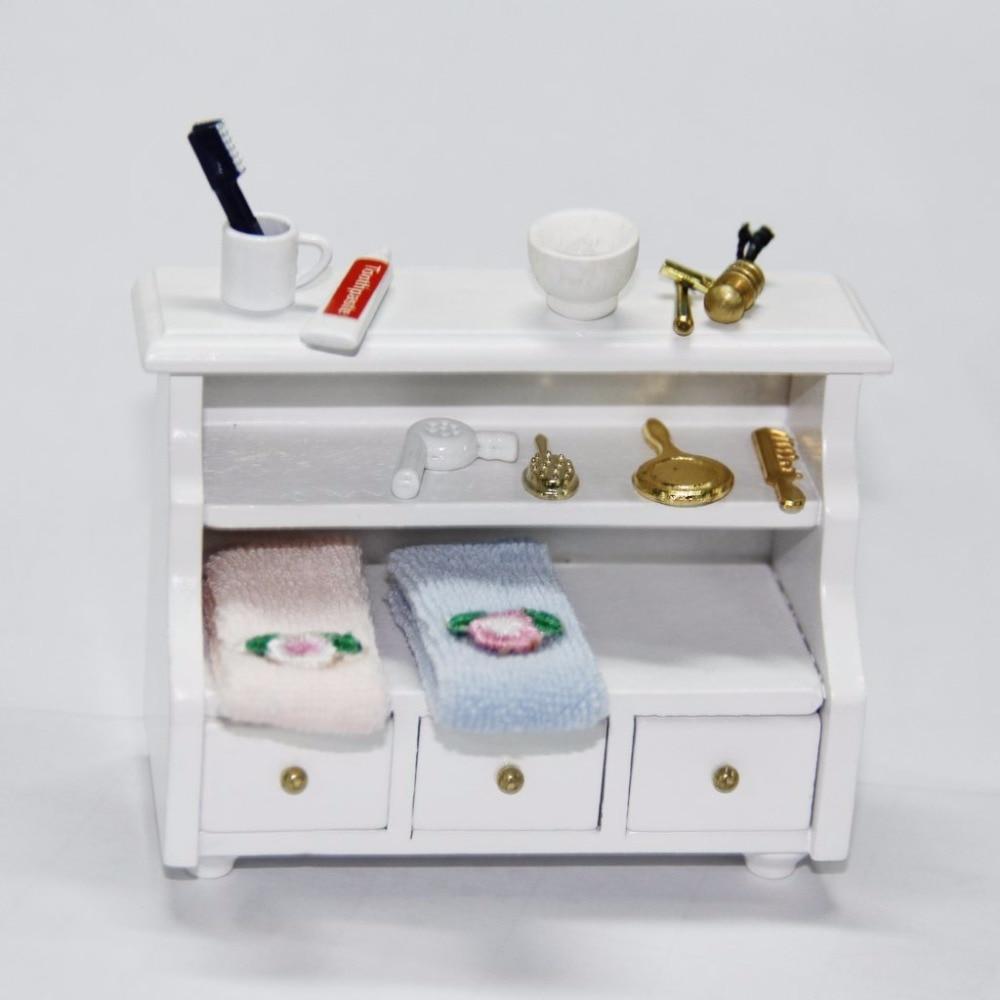 3 kos / komplet 1/12 Dollhouse miniaturni kopalniški pripomoček - Igra igranja vlog - Fotografija 5