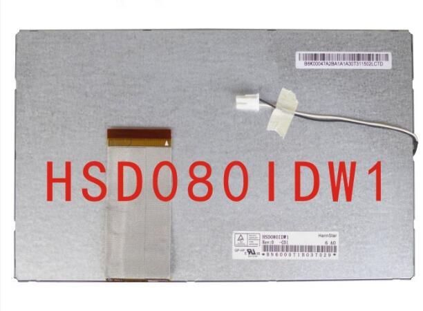 все цены на  Original 8 inch LCD screen HSD080IDW1-C00 display DVD navigation display  онлайн
