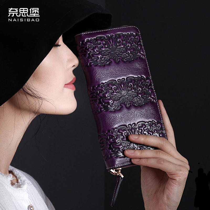 Chinese style Genuine Leather women Clutch Wallet fashion pattern cards holders brand womens wallets and purses free shipping chinese style genuine leather women clutch wallet fashion pattern cards holders brand womens wallets and purses free shipping