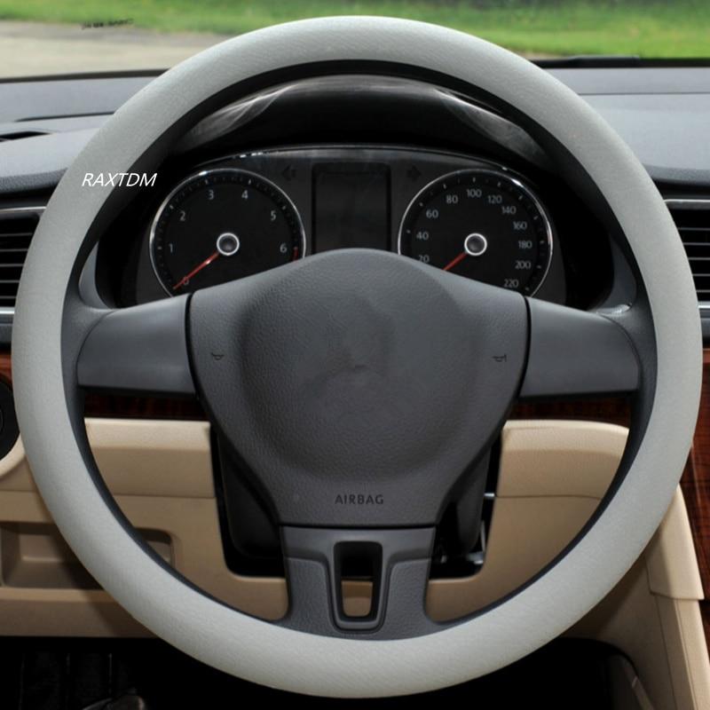Car Stretch Steering Wheel Covers for KIA Rio Sorento Sportage CeeD K2 K3 K4 K5 K7 K9 KX3