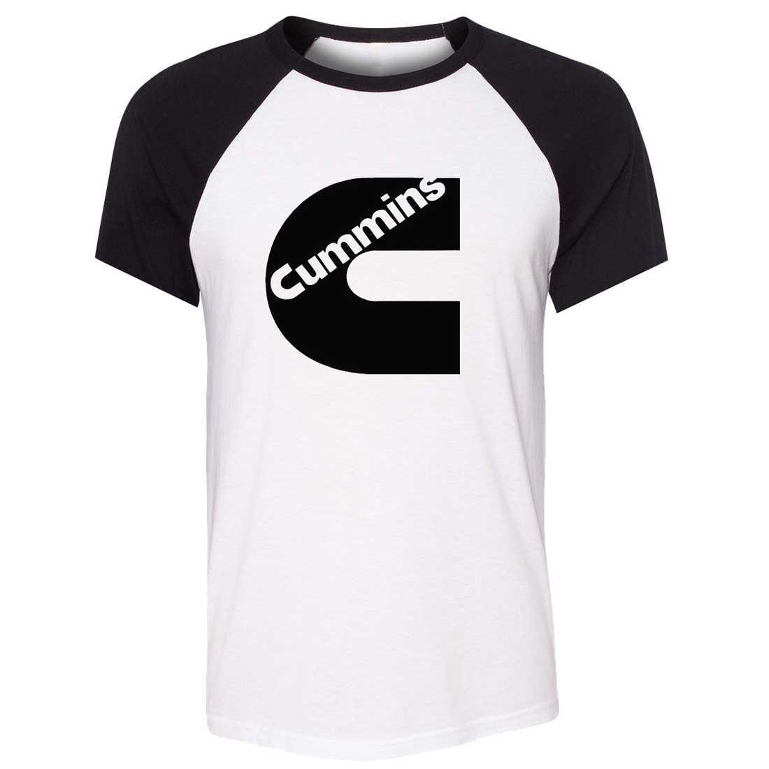 7cf024182 Unisex Summer T-shirt Funny C Cummins Truck Art Pattern Raglan Short Sleeve  Dad and