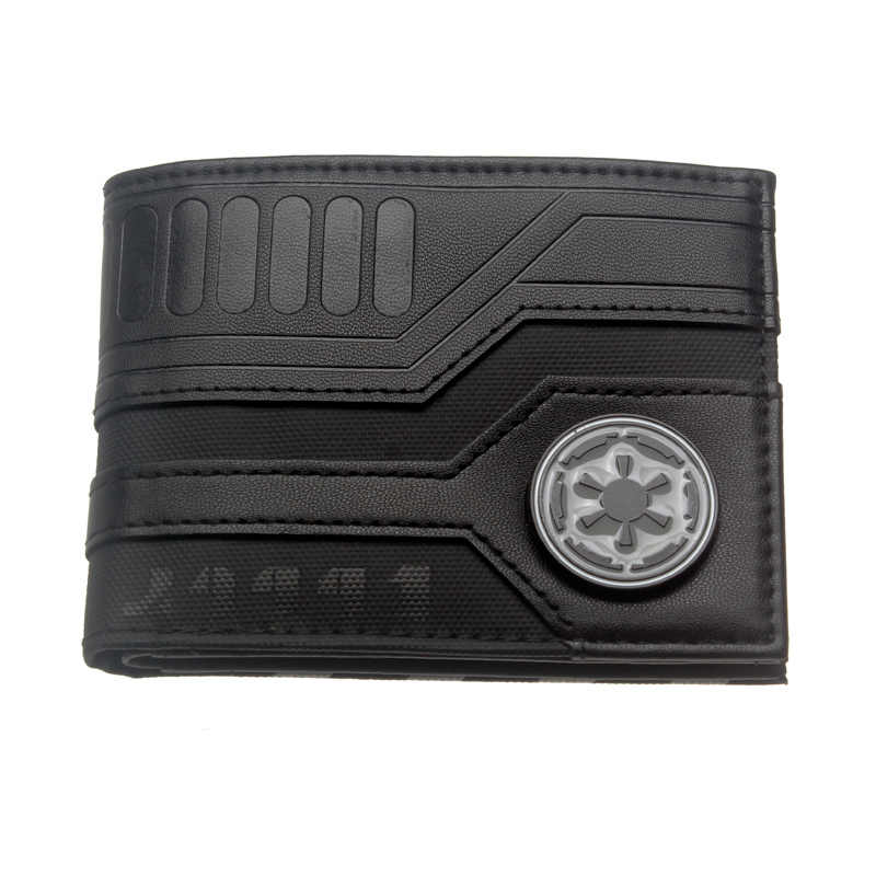 Star Wars Bi-Fold Wallet Women Purse 3157