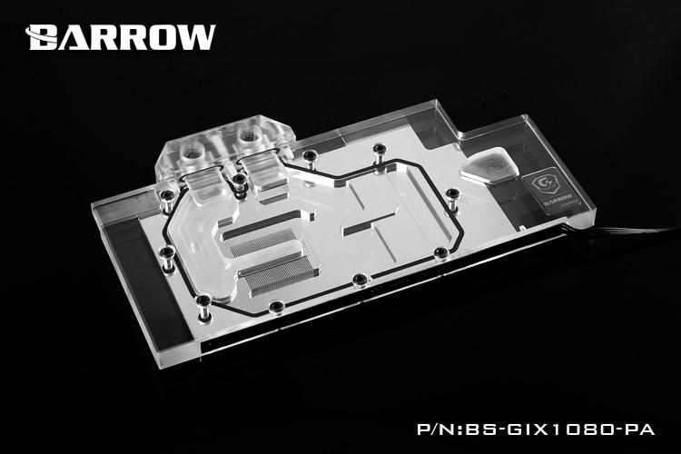 Barrow BS-GIX1080-PA Water Cooling Block for GIGA GTX1080/1070 deuter giga blackberry dresscode